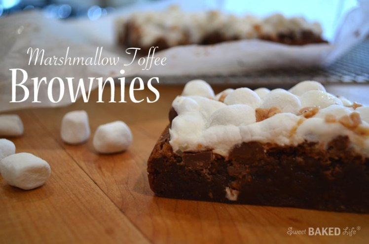 Marshmallow Toffee Brownies