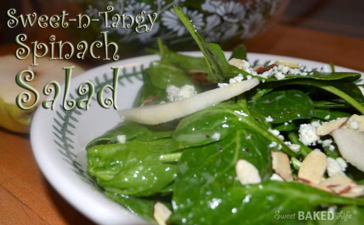 Sweet-n-Tangy Spinach Salad