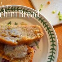 Grandma's Zucchini Bread