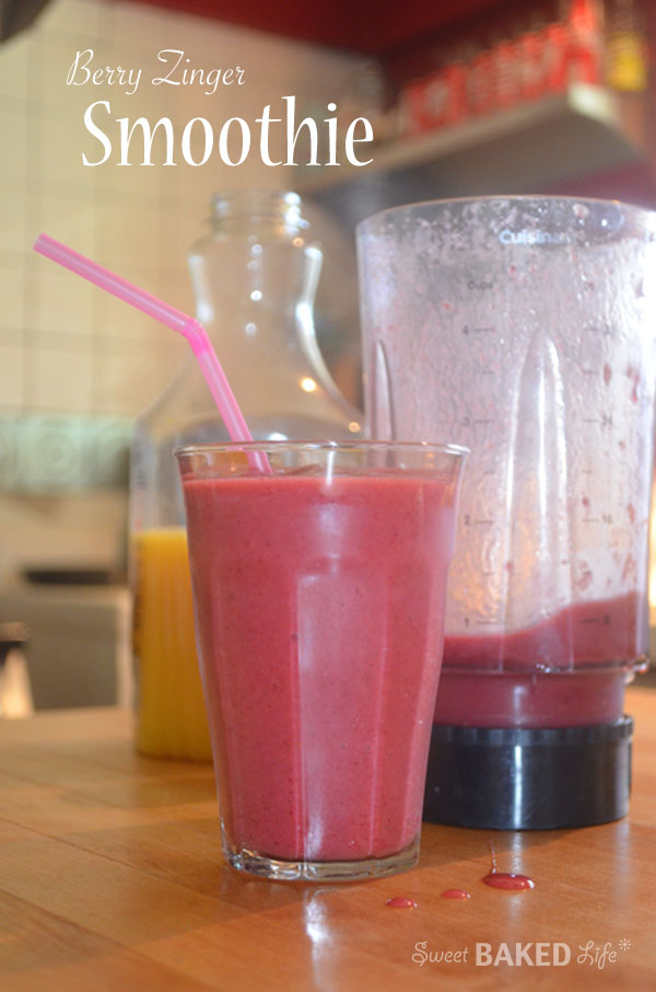 Recipe: Berry zinger smoothie