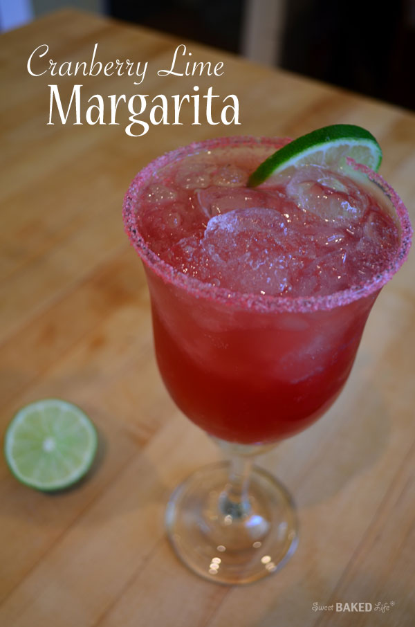 Cranberry Lime Margarita