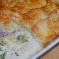 Potato Gratin with Gruyere and Crème Fraîche