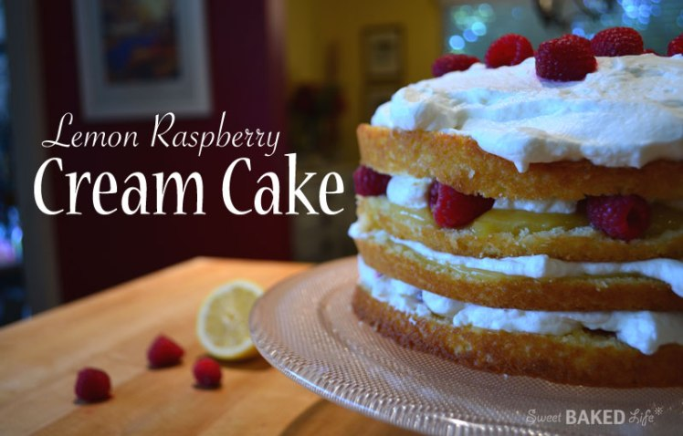 LemonRaspberryCreamCake