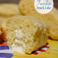 Retro Twinkie Snack Cakes