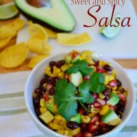 Sweet and Spicy Salsa
