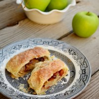 Cinnamon Sugar Apple Strudel