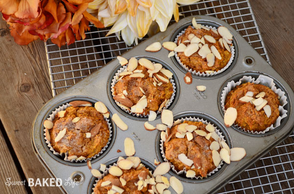 Cinnamon Sugar Almond Pumpkin Muffin 2