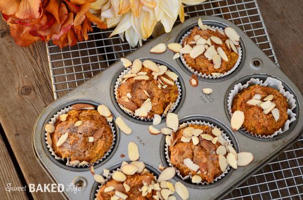 Cinnamon Sugar Almond Pumpkin Muffin 2