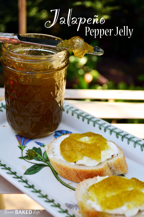 Jalapeno Pepper Jelly | Sweet Baked Life