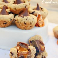 Chocolate Caramel Kiss Cookies