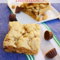 Peanut Butter Crunch Blondies