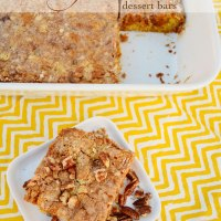 Pumpkin Butter Dessert Bars