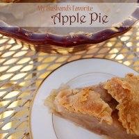 My Husband's Favorite Apple Pie