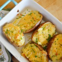 Creamy Twice Baked Potatoes