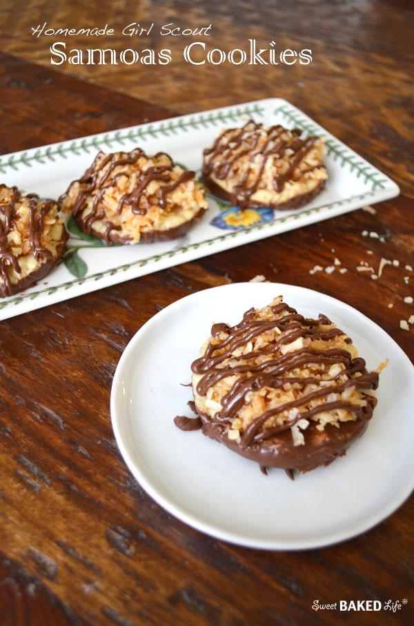 Samoas Cookies
