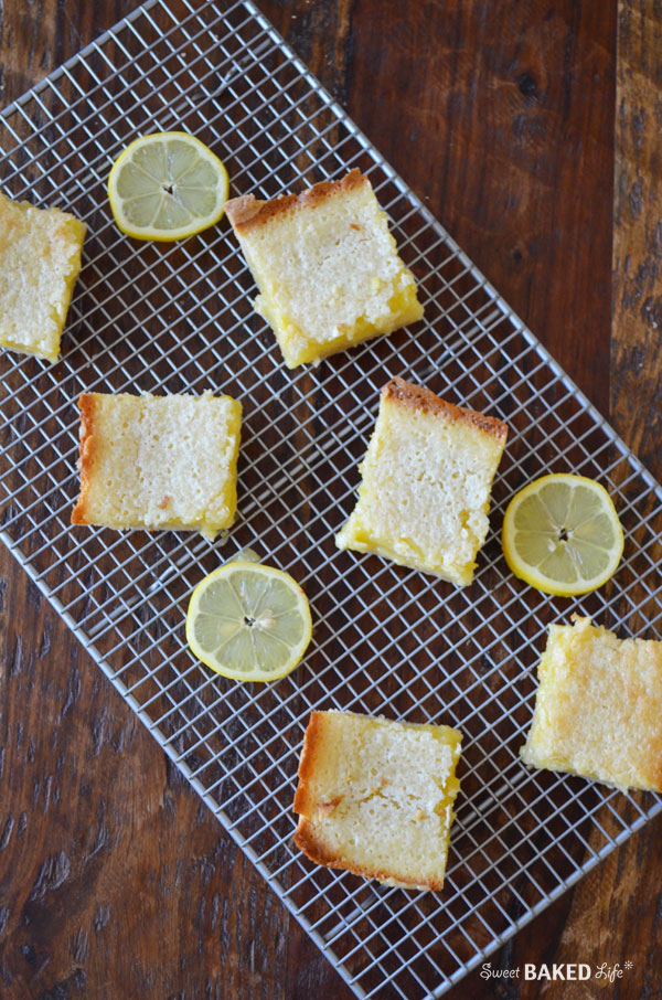 Double Lemon Bars