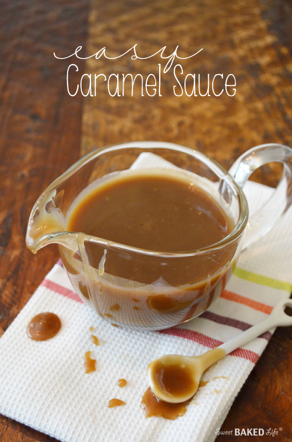 Easy Caramel Sauce Recipe
