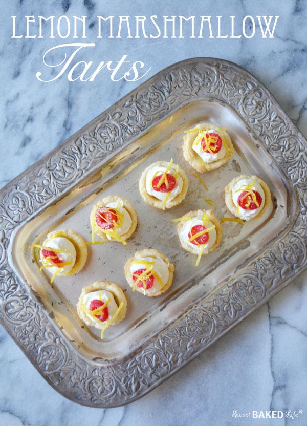 Lemon Marshmallow Tarts