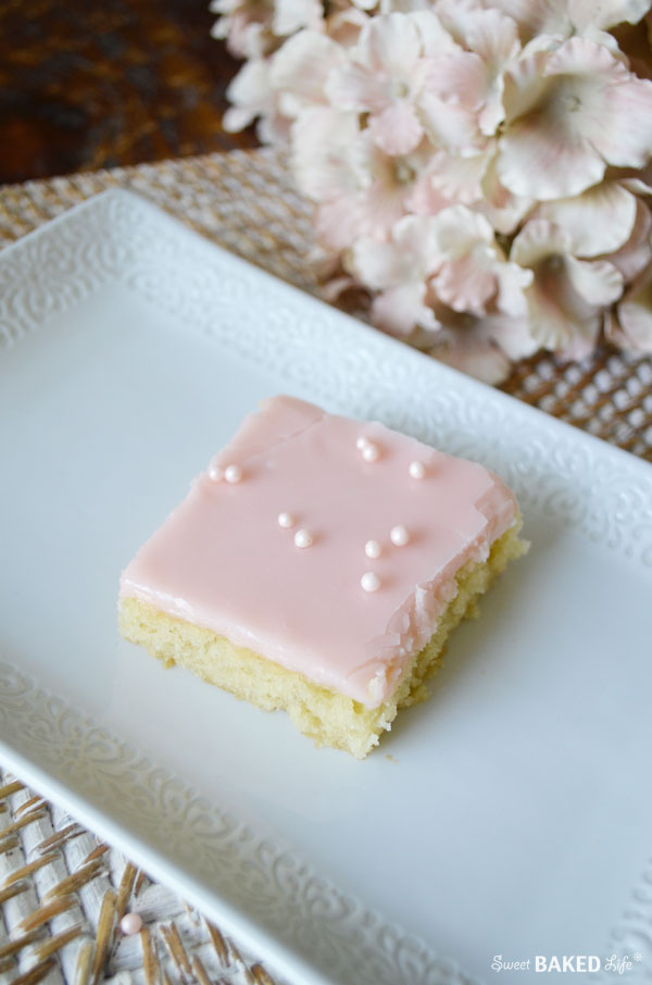 Pink Lemonade Sheet Cake