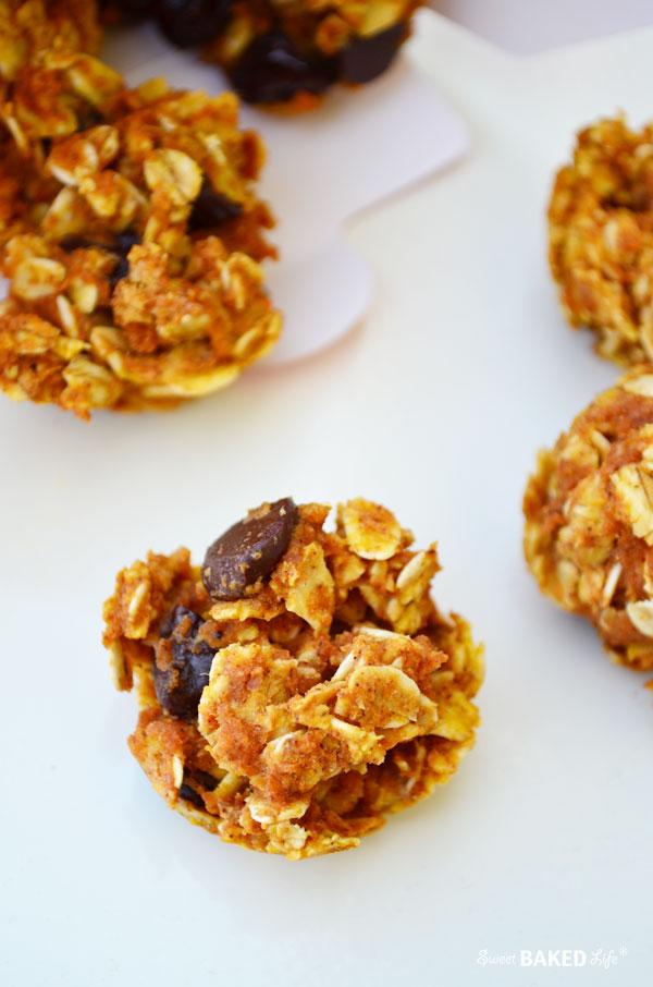 Pumpkin Oat Breakfast Bites {gluten free}