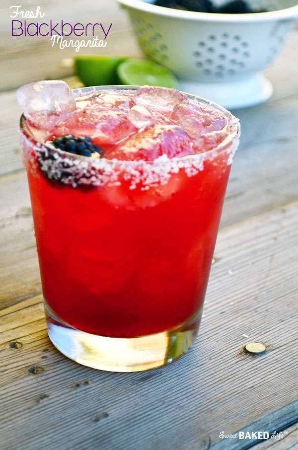 Fresh Blackberry Margarita