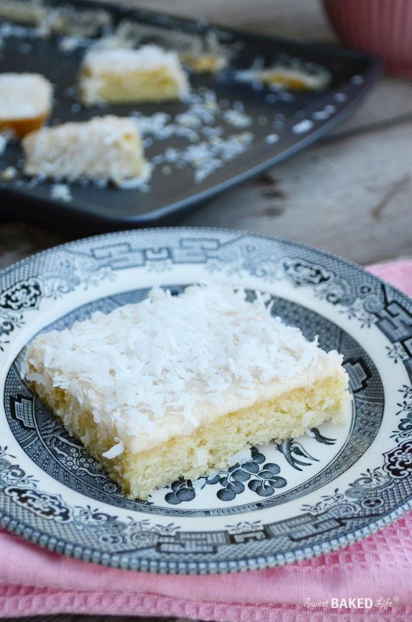 Coconut Sheet Cake