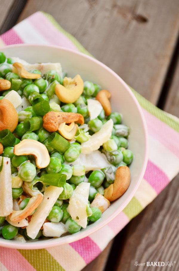 Crunchy Pea Salad