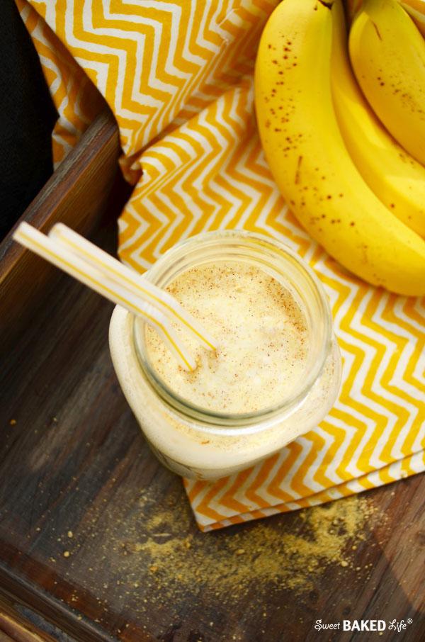 Creamy Banana Pie Smoothie