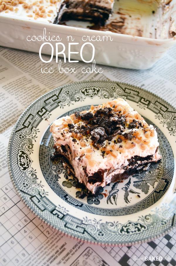 Oreo Ice Box Cake