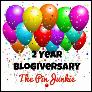 The Pin Junkie Blogiversary Link Party!