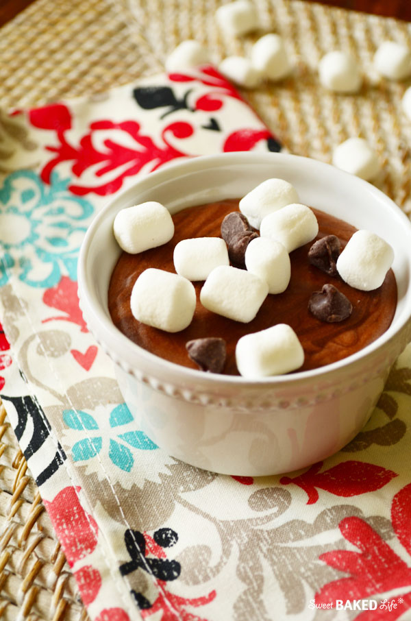 Easy Chocolate Mousse - no eggs and no baking!