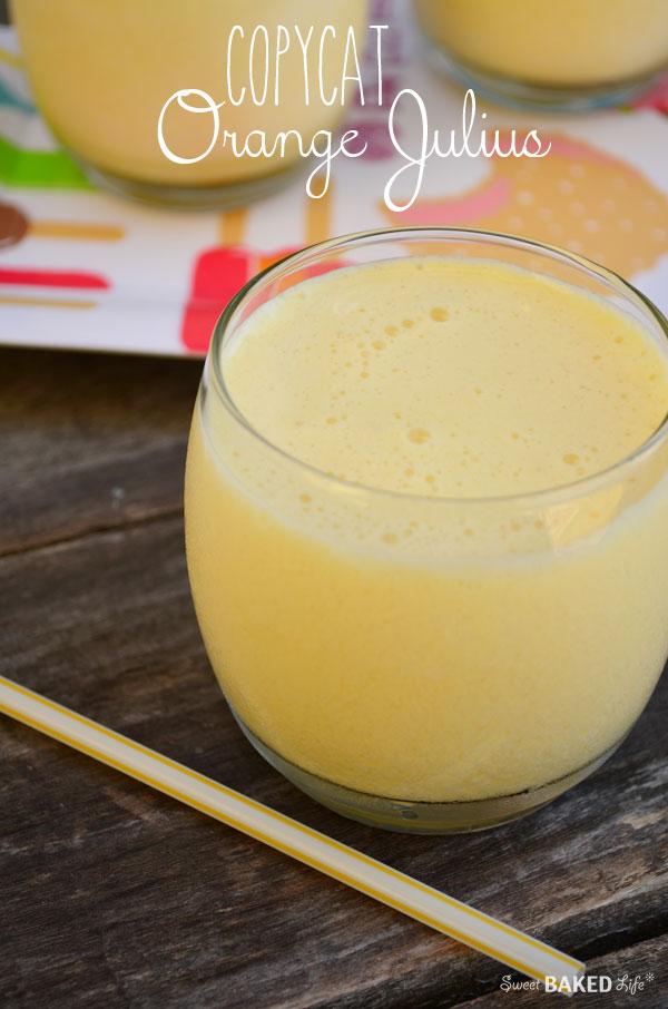 Copycat Orange Julius- -- taste just like the real thing!