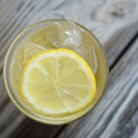 Sparkling Amaretto Sour {second blogiversary}