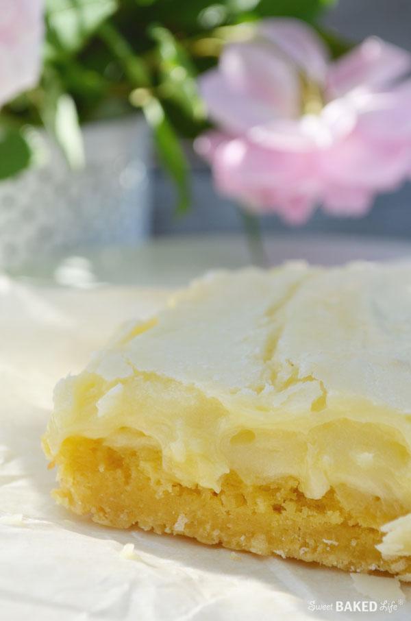 Gooey Butter Bars   Sweet Baked LIfe