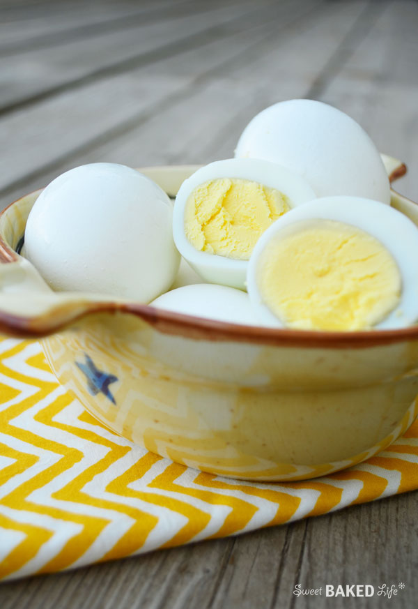The Perfect Hard Boiled Eggs | Sweet Baked Life