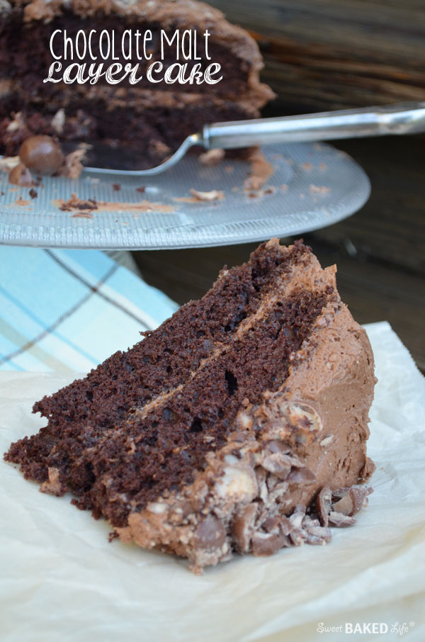 Chocolate Malt Later Cake | Sweet Baked Life