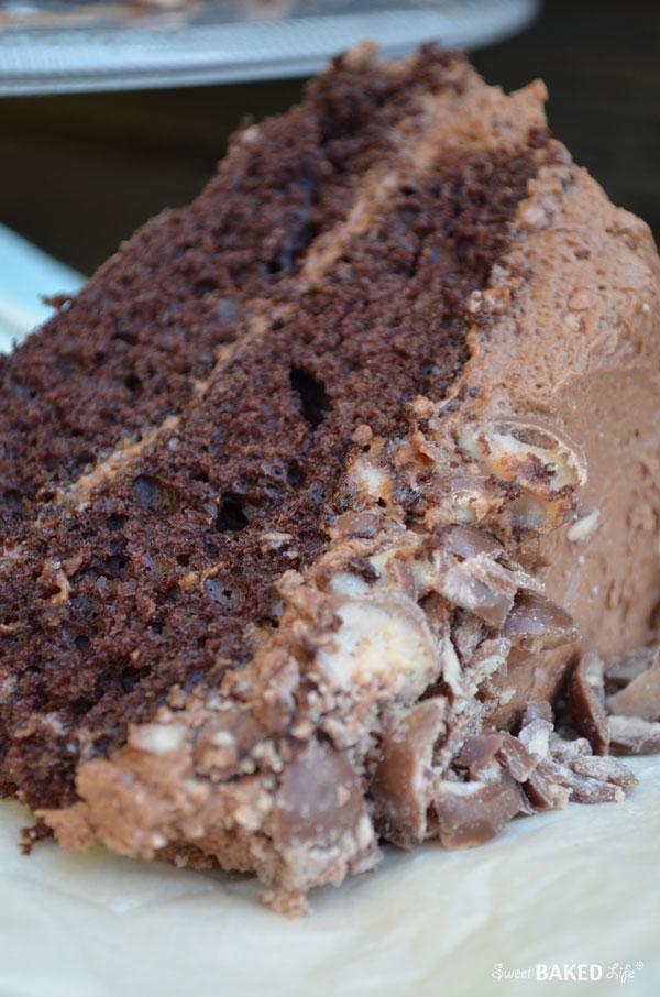 Chocolate Malt Layer Cake | Sweet Baked Life