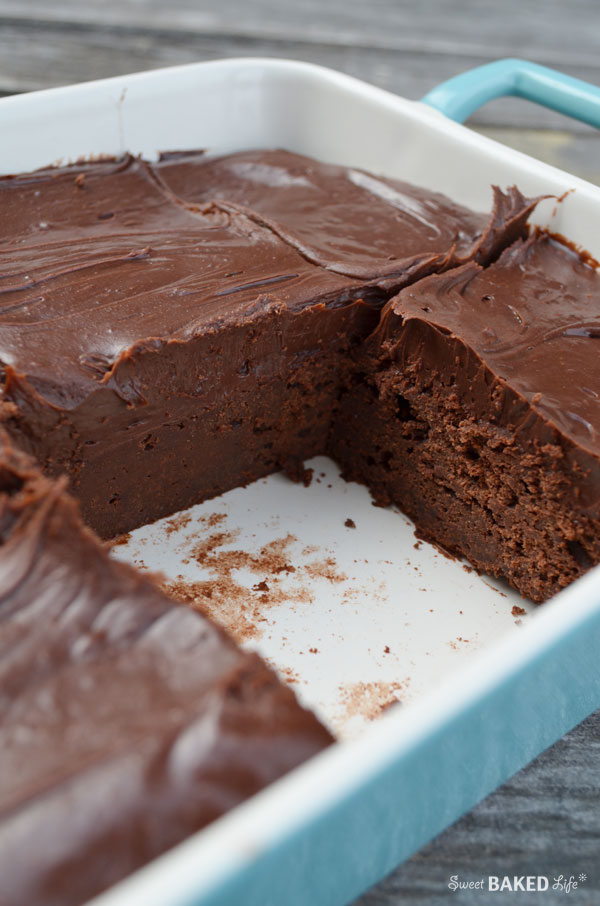 Cold Chocolate Fudge Cake