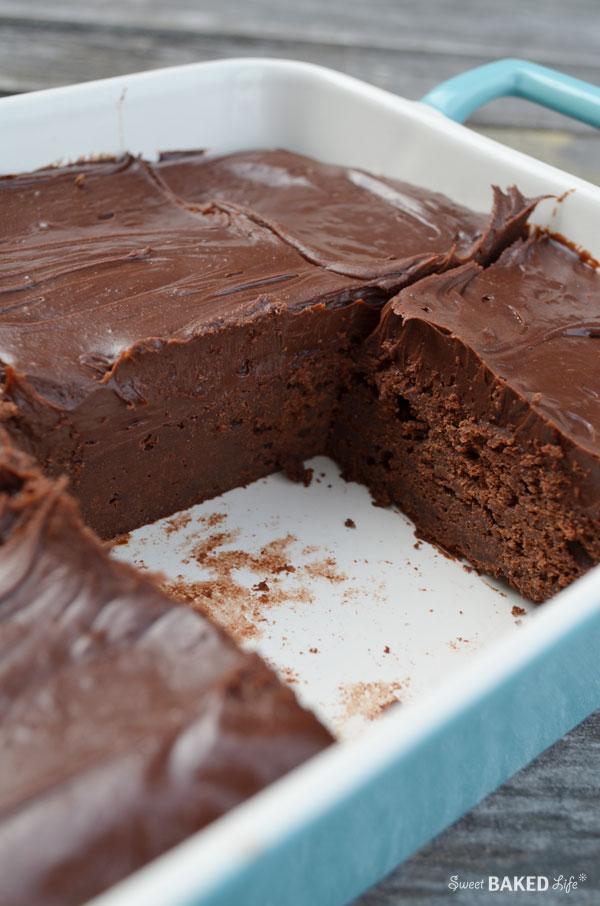 Cold Chocolate Fudge Cake