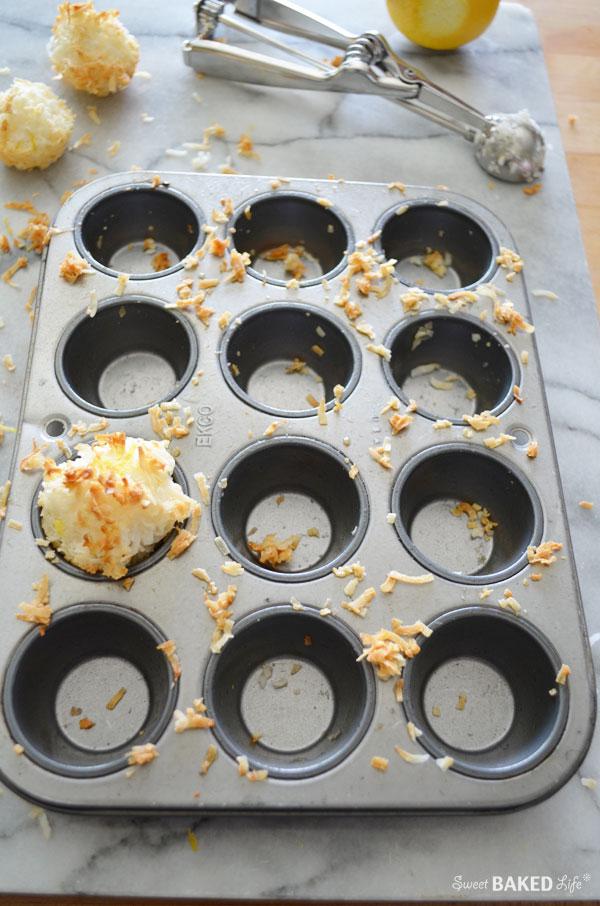 Lemon Coconut Macaroons | Sweet Baked Life