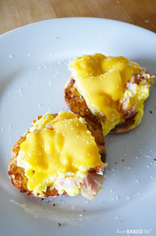 Breakfast Sandwich | Sweet Baked Life