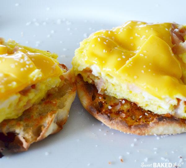 Breakfast Sandwich   Sweet Baked Life