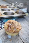 Sour Cream Coffee Cake Mufffins | Sweet Baked Life