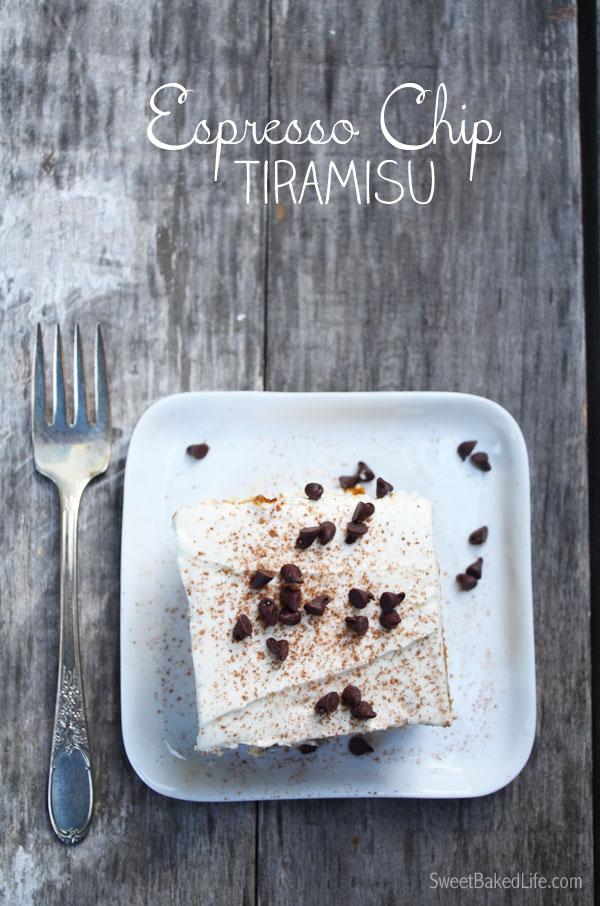 Espresso Chip Tiramisu
