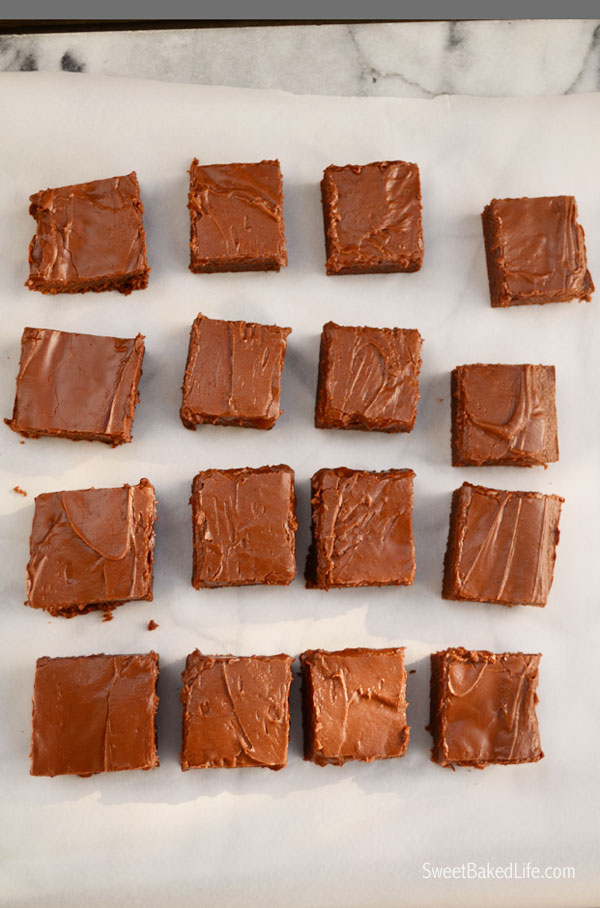 Lunch Lady Brownies | Sweet Baked Life