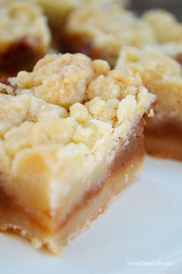 Salted Caramel Bars - so good! | Sweet Baked Life