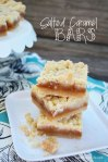Salted Caramel Bars - so good! | Sweet Baked Life