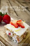 Strawbery Lemon Icebox Cake