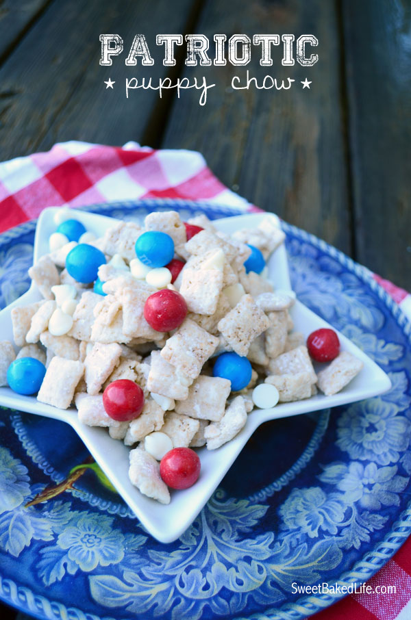 Patriotic Puppy Chow