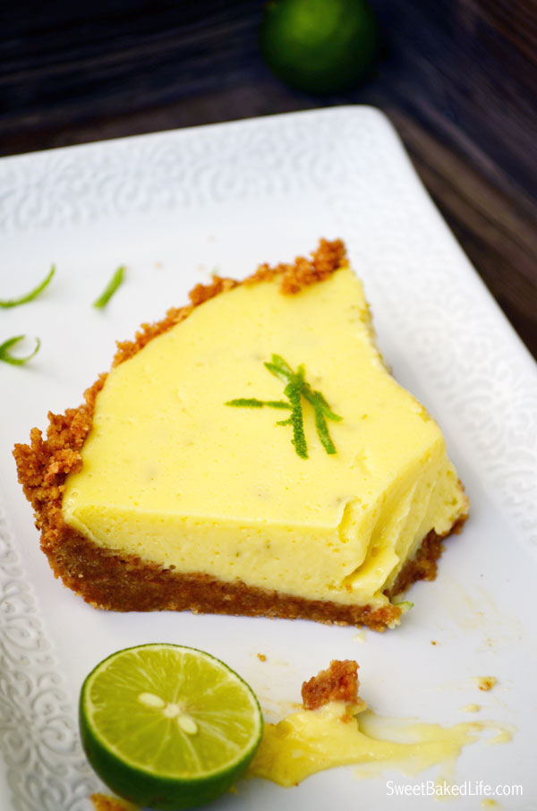 Cool and refreshing Key Lime Pie | Sweet Baked Life